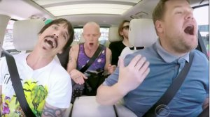 MAGAZINE | El karaoke de Red Hot Chili Peppers en el auto de James Corden