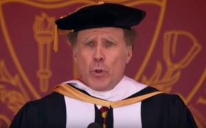 "VIDEO | Will Ferrell se sale del libreto en emotiva ceremonia cantando a capela ""I will always love you"" de Whitney Houston"
