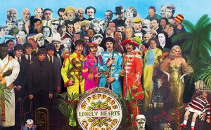 De este modo se están celebrando los 50 años del disco 'Sgt. Pepper's Lonely Hearts Club Band'