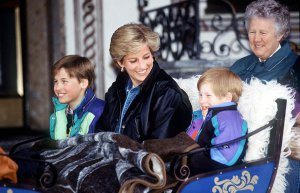 GALERÍA | Los príncipes William y Harry publican fotos personales con la princesa Diana de Gales