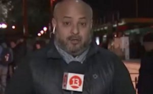"VIDEO | ""Te voy a mostrar, cu..."": Periodista pierde la calma en pleno despacho en vivo"