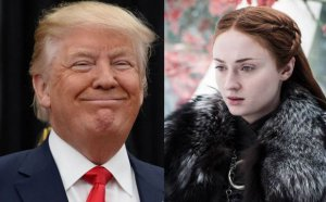Donald Trump compartió una foto al estilo 'Game Of Thrones' y los actores lo rechazaron